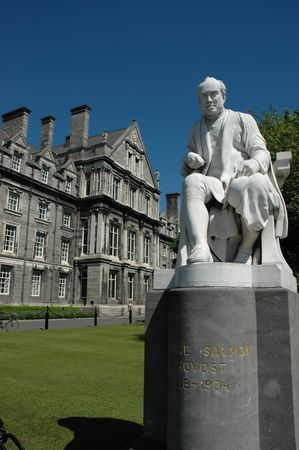 Statue in Trinity College Dublin Stock Photo - 3602109