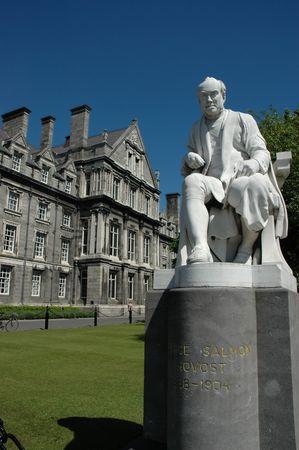 Statue in Trinity College Dublin Stock Photo - 3602109