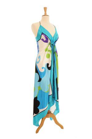 would: Contemporanea su un abito da sera Mannequin poich� visualizzato in un negozio