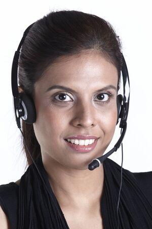 Asian customer service representative Stock Photo - 10322484
