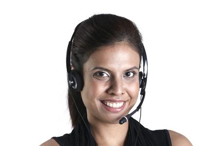 Asian customer service representative photo