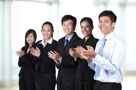 Portrait of  a group of Asian business people Stock Photo - 10322449