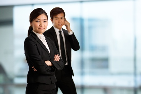 themed: Corporate themed image of business people