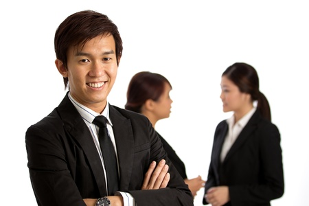 Corporate themed image of business people Stock Photo - 10336532