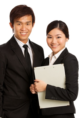 Corporate themed image of business people Stock Photo - 10336613