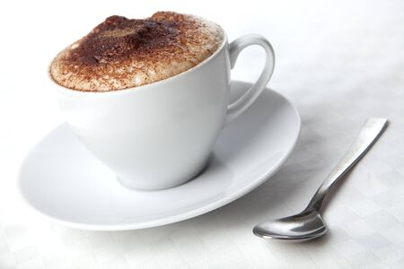 hot coffees:  Cappuccino