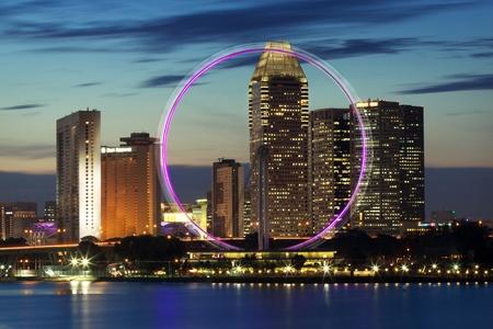 culturally: Singapore skyline