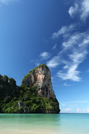 southern of thailand: Beautiful scenery in Krabi provence, southern Thailand. Stock Photo