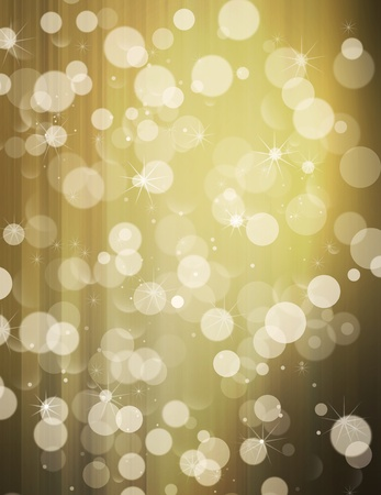 lighting background: Abstract Background with Defocused lights and stars Stock Photo