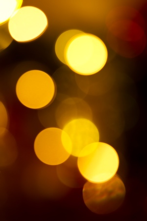 Abstract Christmas Background with Defocused lights. Stock Photo