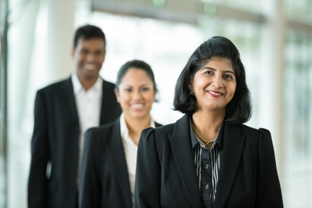 Happy   successful Indian business team at the office Stock Photo - 14608165