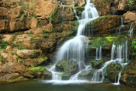 beautiful waterfall Stock Photo - 4550281