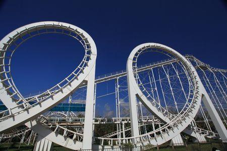Roller Coaster  Close Up Stock Photo - 5867679