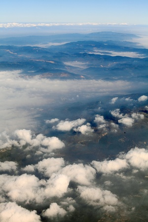Airplane above clouds Stock Photo - 9182865