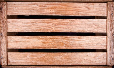 duckboards: Wooden crate background, antique old wooden planks Stock Photo