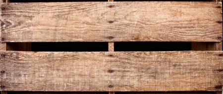 Wooden crate background, antique old wooden planks photo