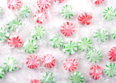 peppermint candy: Christmas peppermint candy for a background