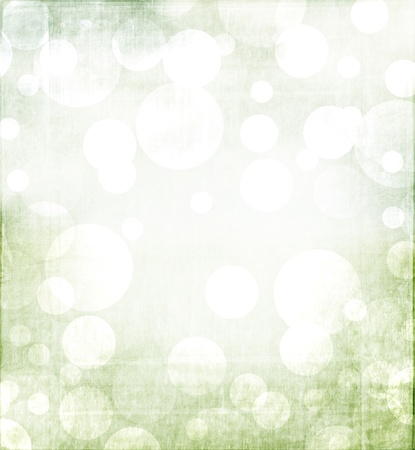 metalic: Spring or Christmas abstract background with green tones and a metalic grunge overlay