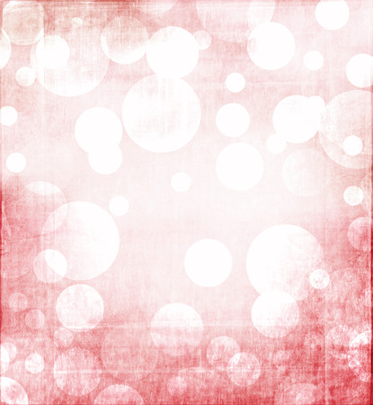 overlay: Red Christmas bokeh with grunge overlay for background