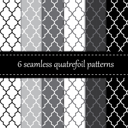 Twelve seamless geometric patterns   Illustration