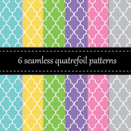 Twelve seamless geometric patterns   Vectores