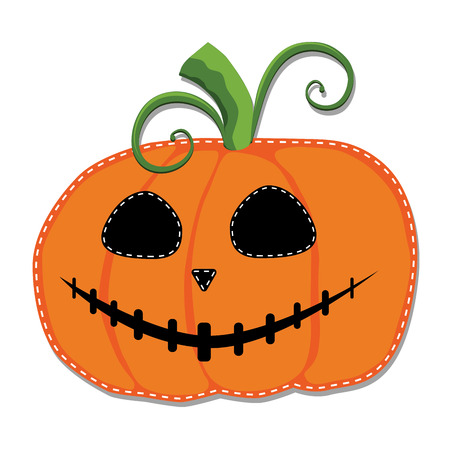 jack o lantern or carved pumpkin on a transparent background
