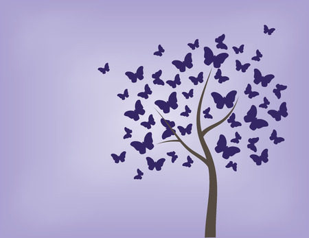 ne: tree, butterfly, vector, colorful, background, art, abstract, butterflies, nature, spring, decoration, illustration, design, flower, beautiful, floral, summer, silhouette, trees, beauty, color, graphic, branch, pattern, decorative, fly, insect, flying, ne