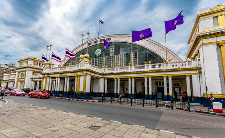 railway station: Bangkok Central Railway Station. Editorial