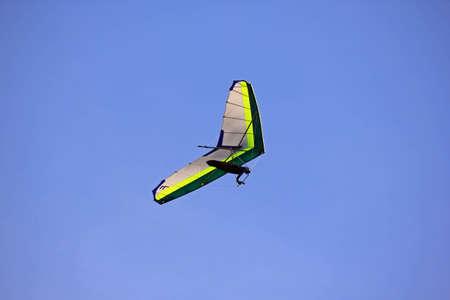 Hang glider over WA