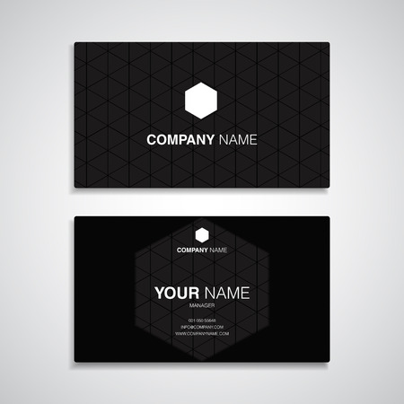Music Entertainment Name Card Template, Business Name Card Design ...