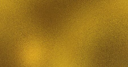 Golden foil background. Gold texture 3D rendering image
