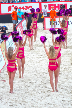 gland: 2015 Moscow Gland Slam Tournament Beach Volleyball