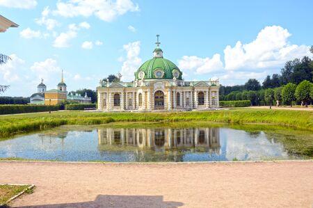 kuskovo: The palace and park ensemble Kuskovo graphs Sheremetevs XVIII-XIX centuries Grotto 1756-1761 architect Argunov