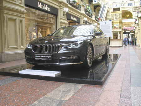 bmw: 100 years of the BMW. The State Department Store. Moscow. BMW 7-Series Editorial