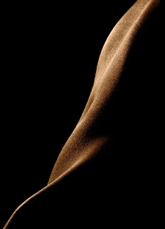 The  woman poising in the dark. Female body parts. Stock Photo - 636968