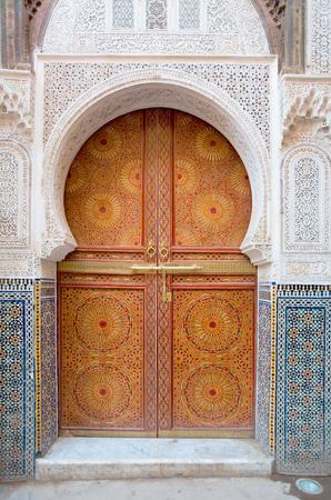 door way: Moroccan entrance, door way, entry, exit, pattern