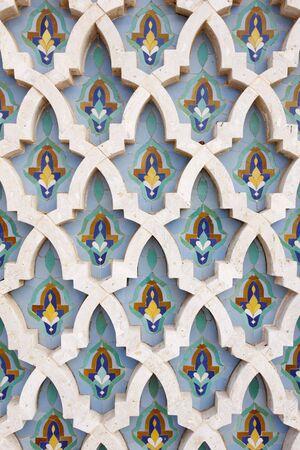 moorish: Arabian ornament. Detail of wall.