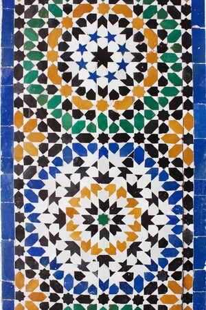 azulejos ceramicos: Bah�a de Palacio. Cer�mica �rabe Foto de archivo