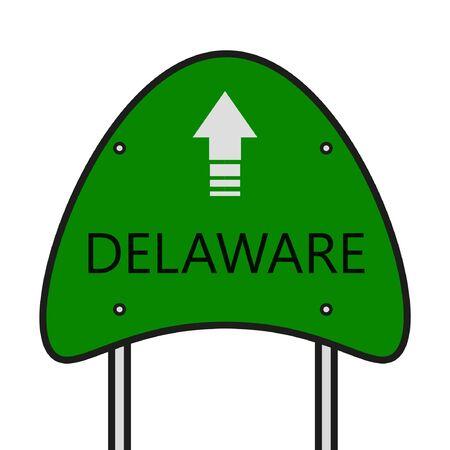 Delaware State Illusztráció