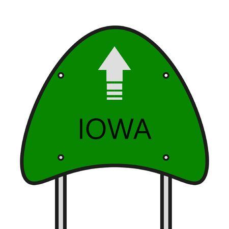Iowa State Illusztráció
