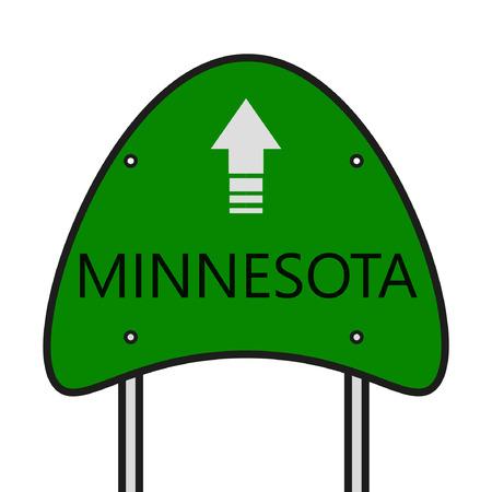 minnesota: Minnesota State Illustration