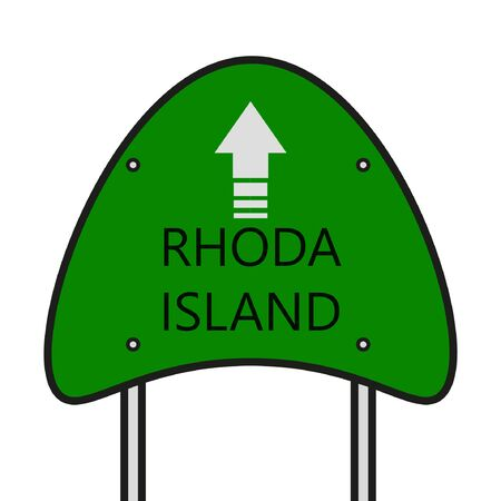 Rhoda Island State Illusztráció