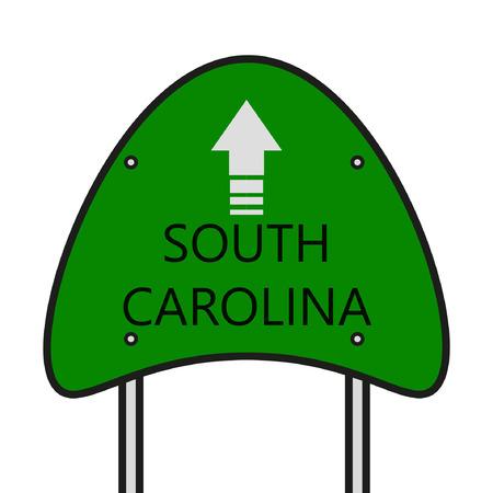 carolina: South Carolina State Illustration