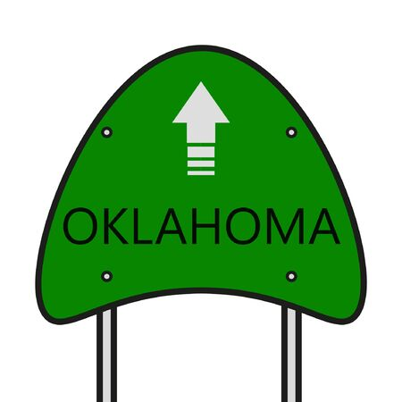 oklahoma: Oklahoma State Illustration