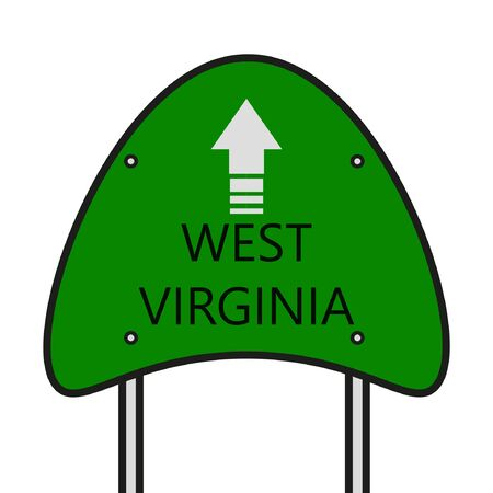 virginia: West Virginia State Illustration