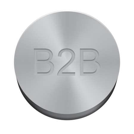 b2b: Bot�n B2B Vectores
