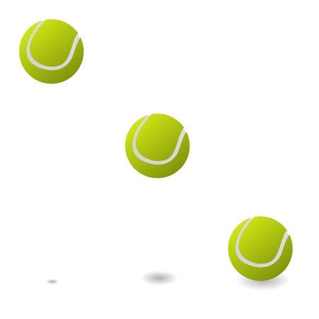 Tennis balls Stock Vector - 19870183