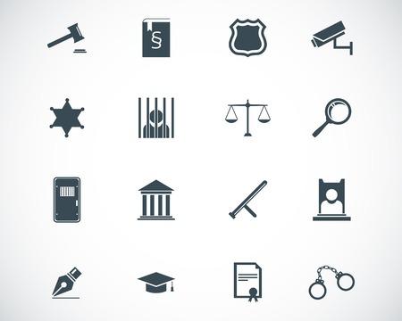 gerechtigkeit: schwarz Gerechtigkeit Icons