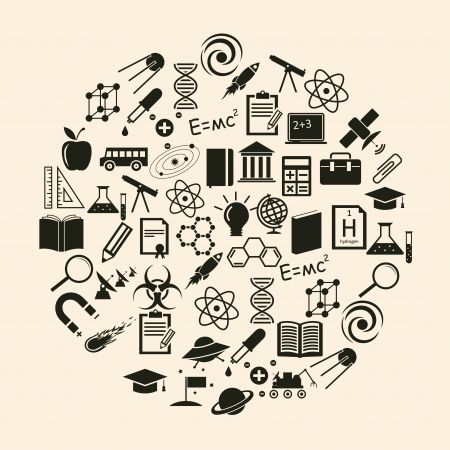 Vector science icon Stock Vector - 23087456