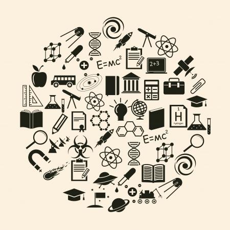 Vector science icon Stock Vector - 23087456